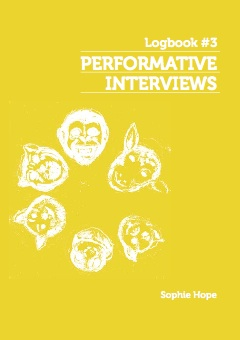Logbook 03 Performative Interviews Cover